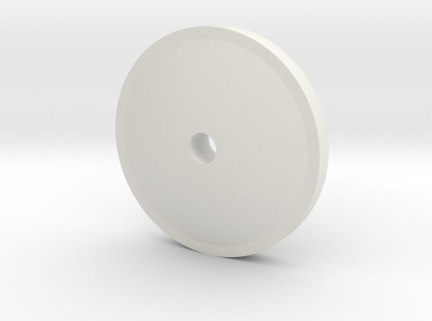 08.02.02.11 Morse Key Pad in White Natural Versatile Plastic