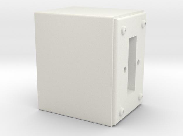 08.02.09.02.02 Switch Body (2) in White Natural Versatile Plastic