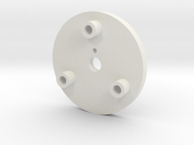 08.03.01.03.04 Spacer in White Natural Versatile Plastic