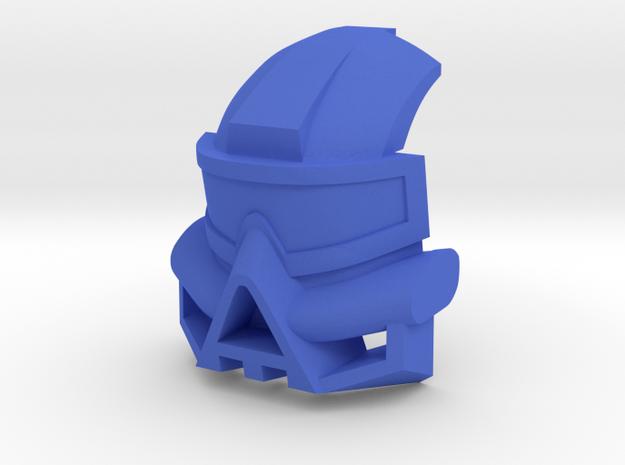 Kanohi Kaukau in Blue Processed Versatile Plastic