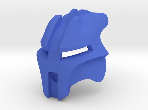 Kanohi Artamu - Mask of Adaptation in Blue Processed Versatile Plastic