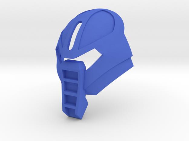 [commission] Custom Kanohi Huna in Blue Processed Versatile Plastic