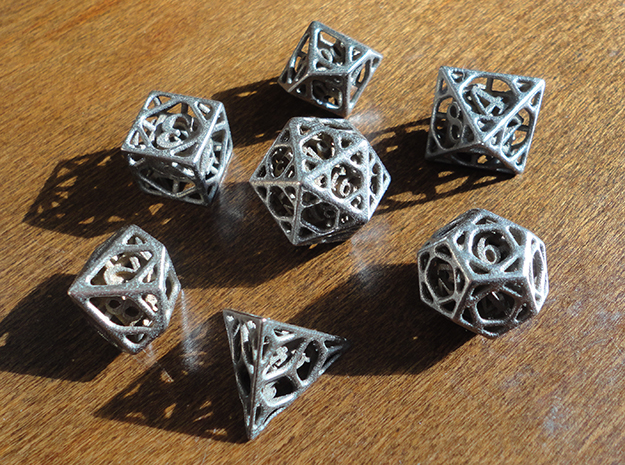 Cage Dice Set with Decader