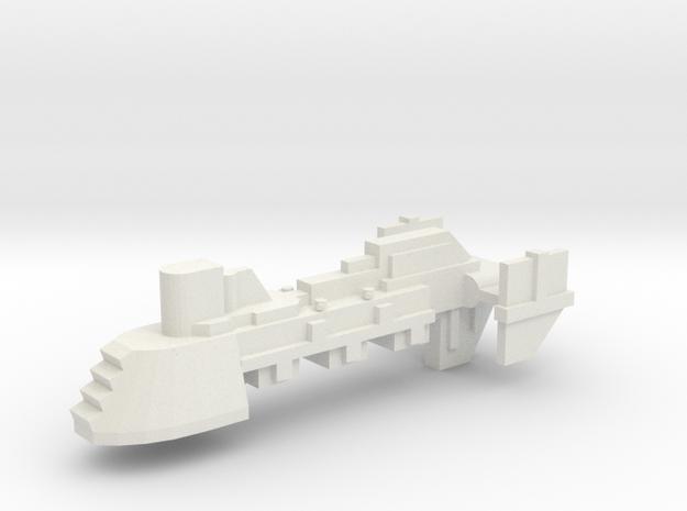 Escort - Concept 2  in White Natural Versatile Plastic
