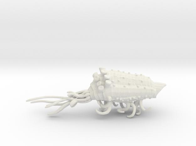Wvurm Kraken - Concept B in White Natural Versatile Plastic