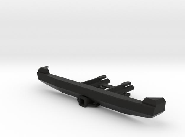 PM10009 Metric Overland REAR Bumper in Black Natural Versatile Plastic