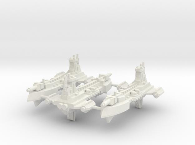 Incursor clase Idolatra  in White Natural Versatile Plastic