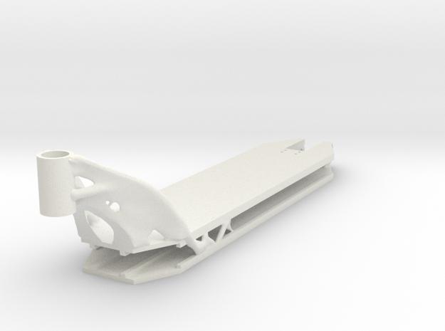 Deck 1 in White Natural Versatile Plastic