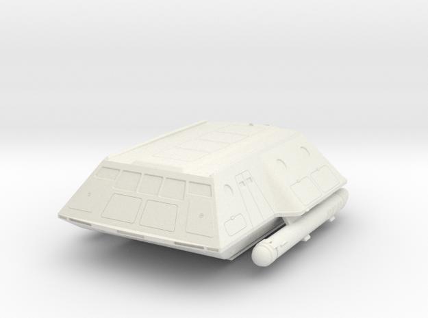 1:72 TOS shuttlecraft hollow in White Natural Versatile Plastic