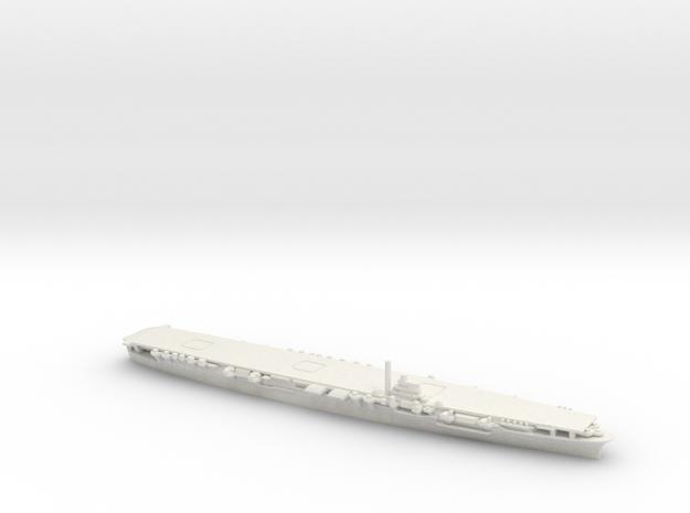 Japanese Shokaku-Class Aircraft Carrier in White Natural Versatile Plastic
