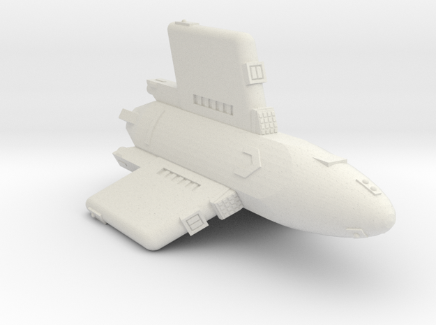 3788 Scale Hydran Pegasus Carrier CVN in White Natural Versatile Plastic