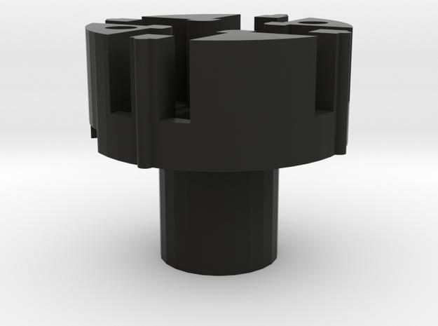HATSWITCH_BASE_4WAY in Black Natural Versatile Plastic