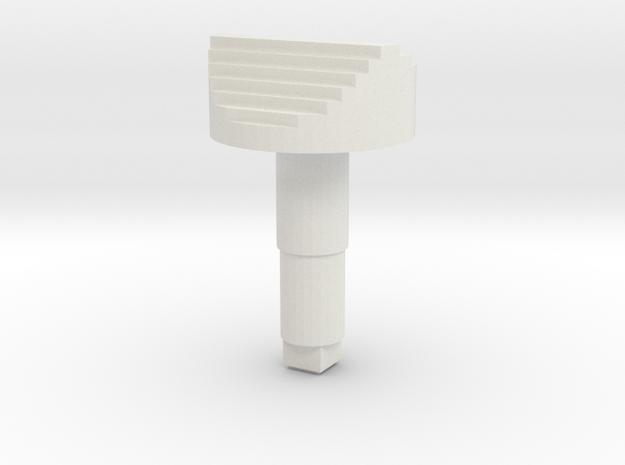 STEM_2WAY_ROCKER_8_HORNET_SPEEDBRAKE in White Natural Versatile Plastic