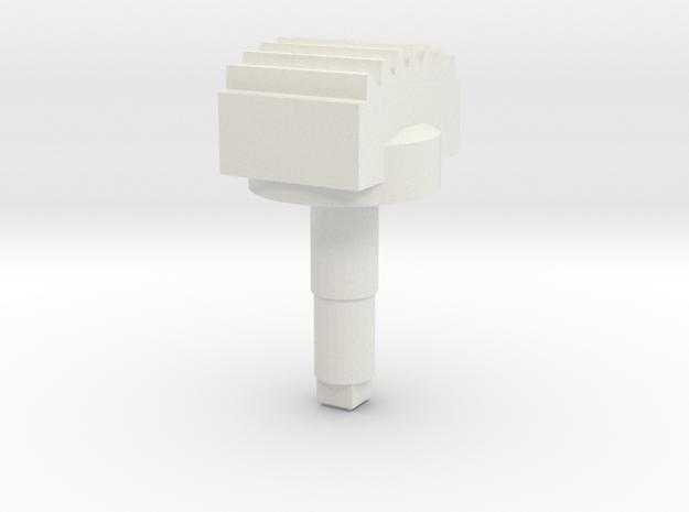 STEM_2WAY_ROCKER_3_CHEESETEETH in White Natural Versatile Plastic