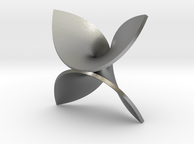 Enneper for silver in Natural Silver