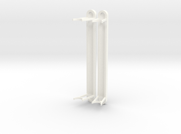 1.8 BELL412 STEPS FOR ROBAN in White Processed Versatile Plastic
