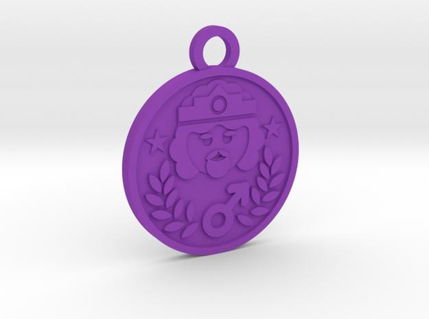 The Emperor in Purple Processed Versatile Plastic