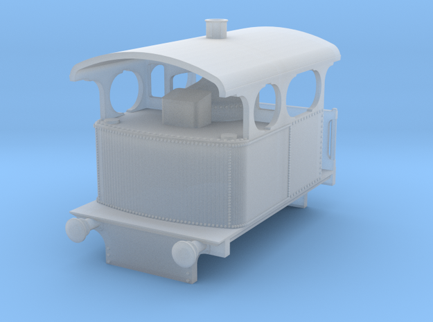 b-160fs-cockerill-type-IV-loco in Smooth Fine Detail Plastic