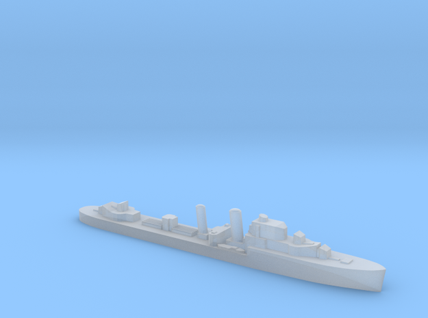 HMS Intrepid destroyer 1:3000 WW2 in Smoothest Fine Detail Plastic