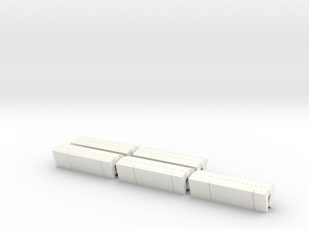 Digitale CTA (5st) (1:87) in White Processed Versatile Plastic