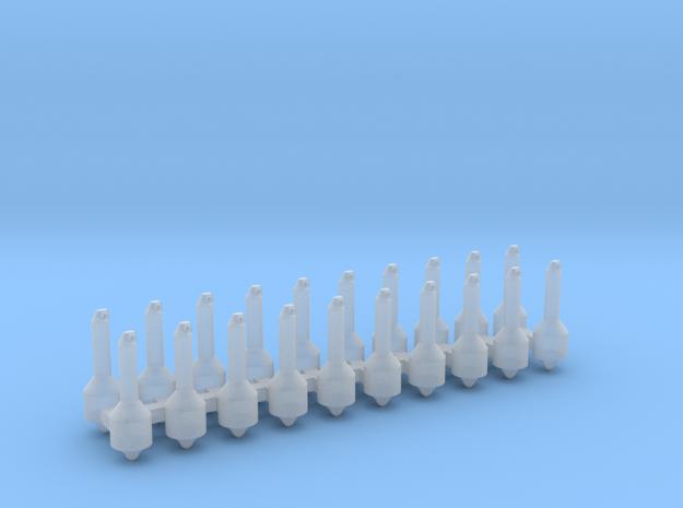 20 Rettungsleuchten 1:50 in Smoothest Fine Detail Plastic