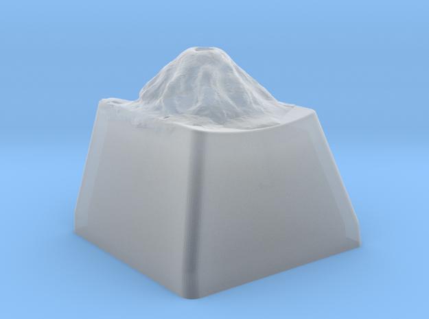 Volcano Keycap in Smoothest Fine Detail Plastic
