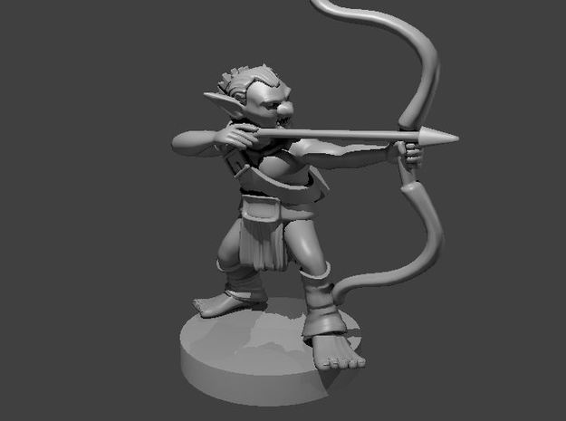Goblin ranged  NEW in Smooth Fine Detail Plastic