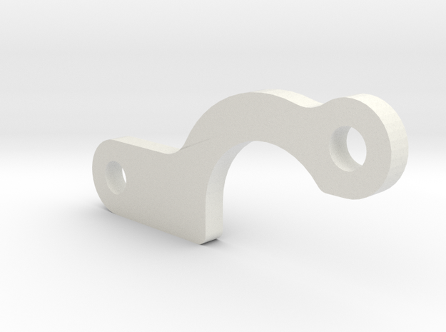 Spur Cover Spacer in White Natural Versatile Plastic