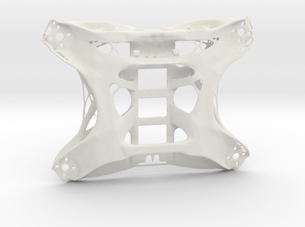 FPV Drone Chassis 1 in White Natural Versatile Plastic