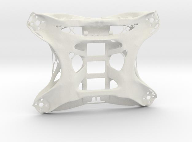 FPV Drone Chassis 1 in White Natural Versatile Plastic