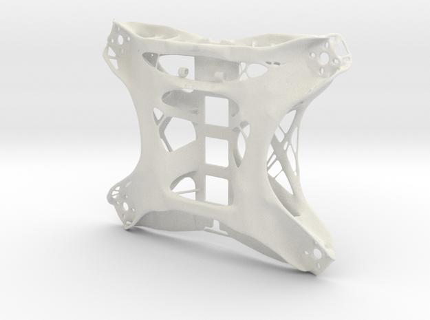 FPV Drone Chassis 2 in White Natural Versatile Plastic