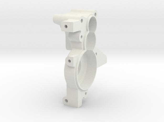 TRF211 3 Gear Layback RH Case in White Natural Versatile Plastic