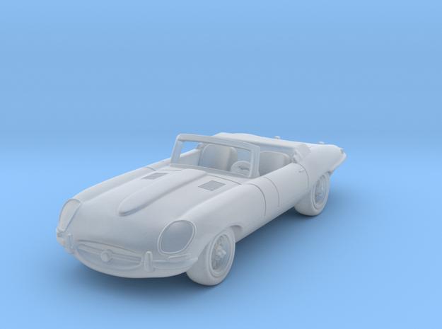 Jaguar Type E  1:87 HO in Smooth Fine Detail Plastic