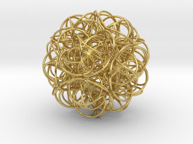 radiation Aetherflower in Polished Brass