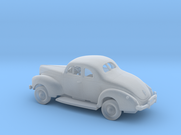 1/120 1940 Ford 8 Coupe Kit in Smooth Fine Detail Plastic