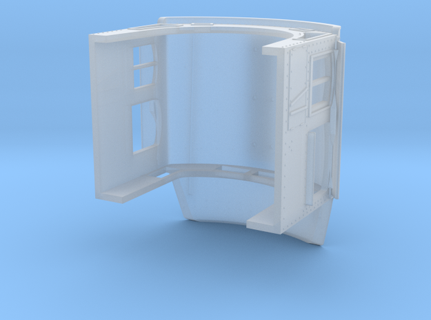 TT ATSF extended tapered cab in Smooth Fine Detail Plastic