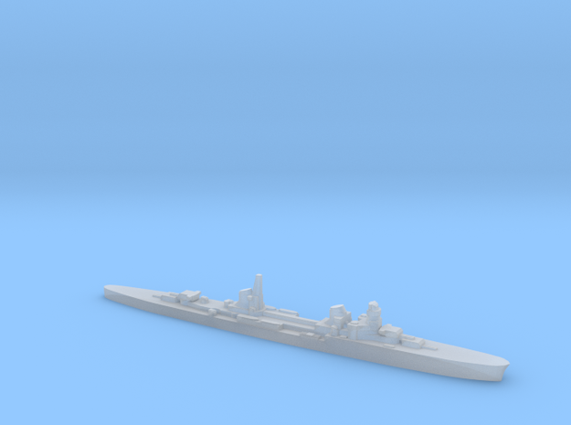 Duca d'Aosta light cruiser 1:2400 WW2 in Smoothest Fine Detail Plastic