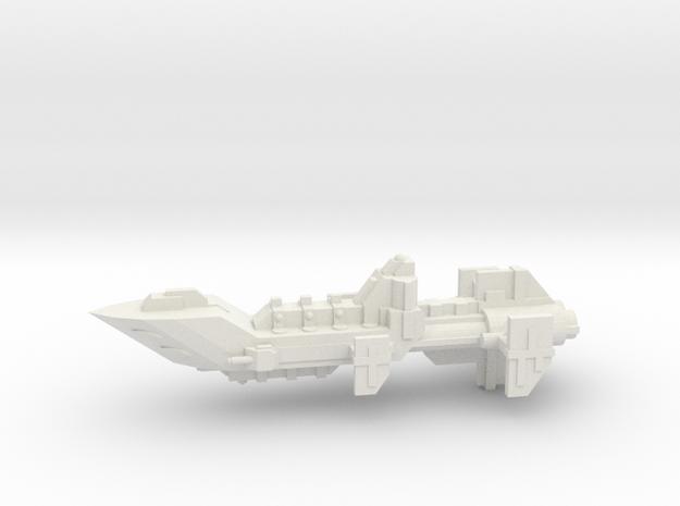 Navy Escort - Concept 1  in White Natural Versatile Plastic