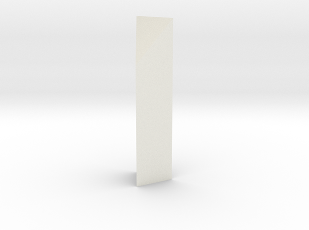 Aqueduct Enforcement Pillar in White Natural Versatile Plastic