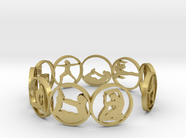 18.11 ring in Natural Brass
