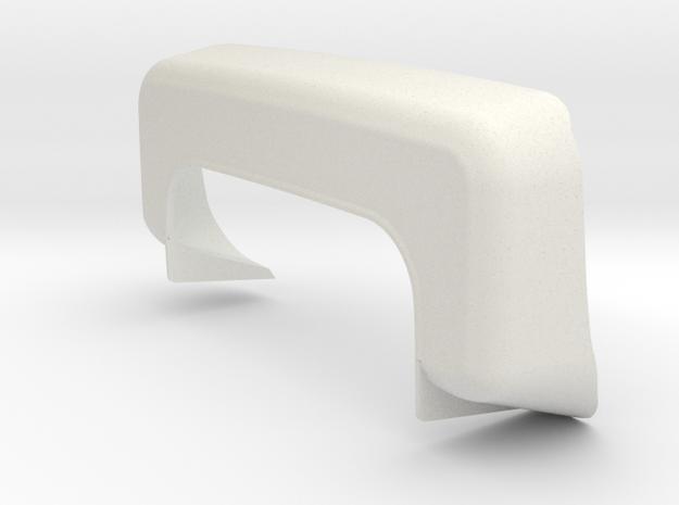 Dually Fender for RC4WD K5 Blazer Body RIGHT in White Natural Versatile Plastic