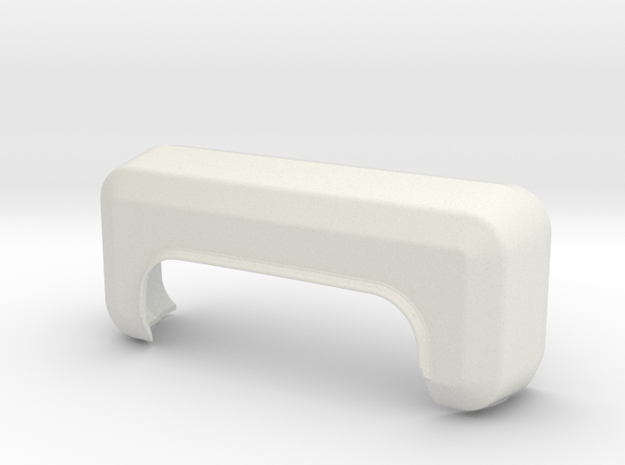 Fender for Stepside Bed for RC4WD K5 Blazer Body in White Natural Versatile Plastic
