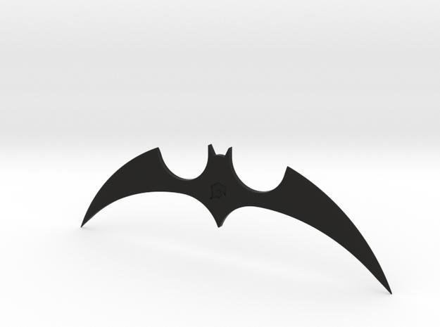 """The New Batman Adventures"" - Batarang Replica in Black Premium Versatile Plastic"