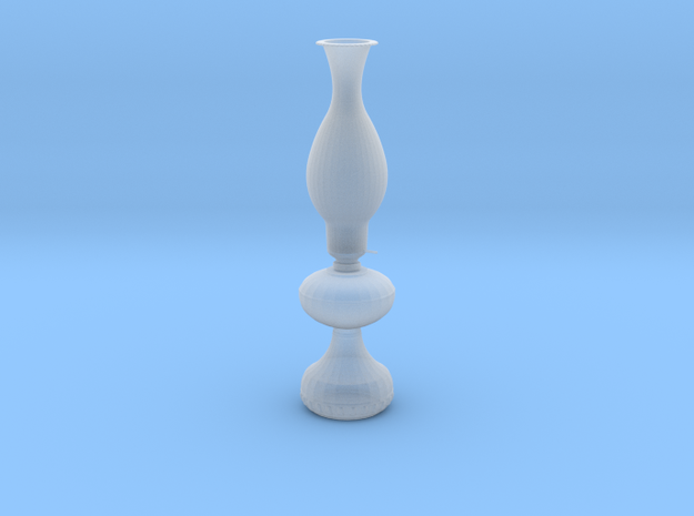 Oil Lamp Old West in Smooth Fine Detail Plastic