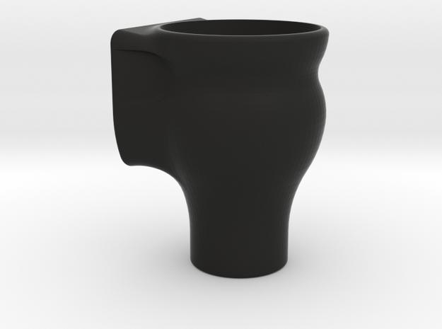 Fish Tank Feed Cup (Internal) in Black Natural Versatile Plastic