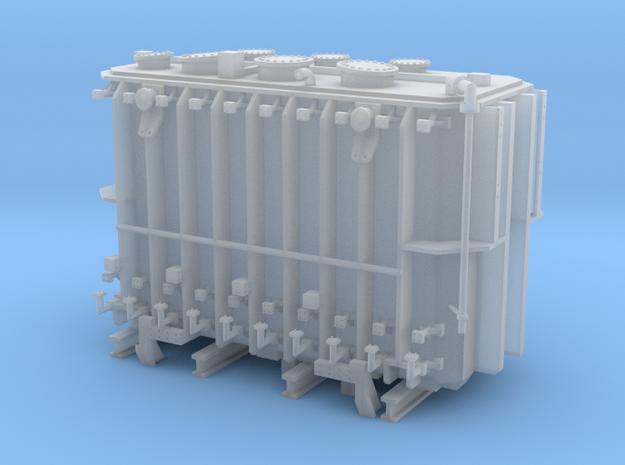 Transformer load Exactrail QTTX 2 trk well flat in Smooth Fine Detail Plastic