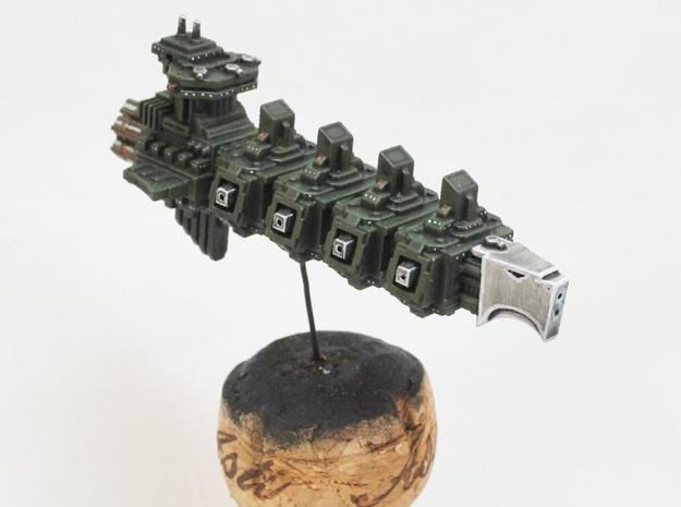 Absolutist Light Cruiser (Aquila Pattern) 3d printed Model painted by Miniatures of the North