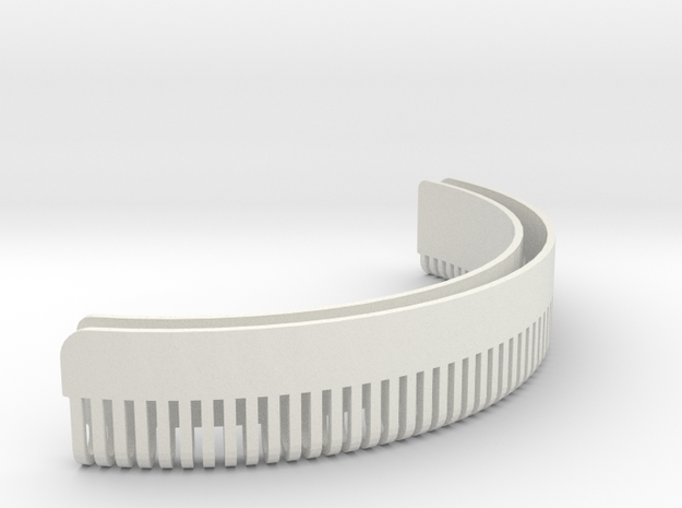 Jyn Erso Eadu version - Cap detail in White Natural Versatile Plastic