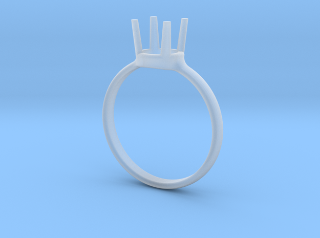 diamond ring size 9 in Smoothest Fine Detail Plastic