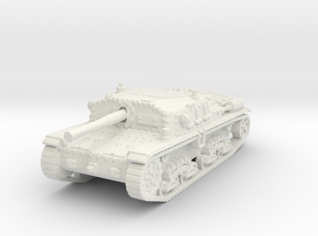Semovente M42 75/34 1/120 in White Natural Versatile Plastic